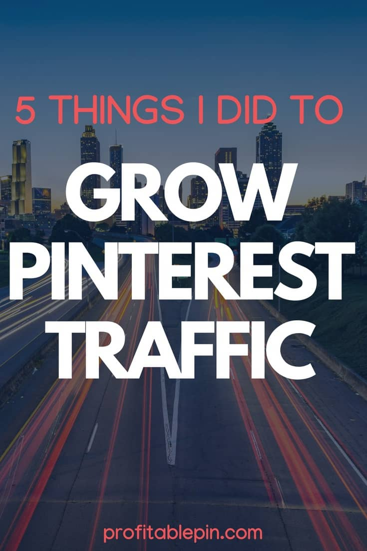 GROW PINTEREST TRAFFIC